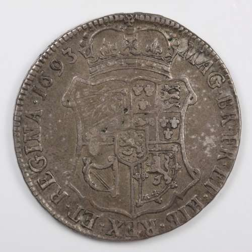 1693-William & Mary 40 Shillings