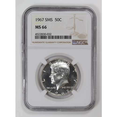 1967-S  SMS NGC MS-66