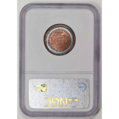 1998 W/OBVERSE INDENT RD NGC MS-65