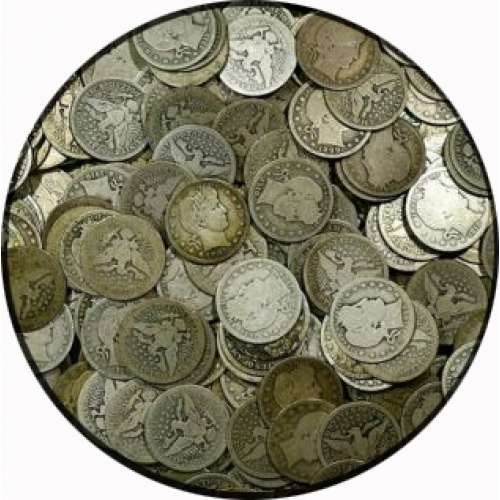 US 90% Barber Coinage - Silver $1 Face