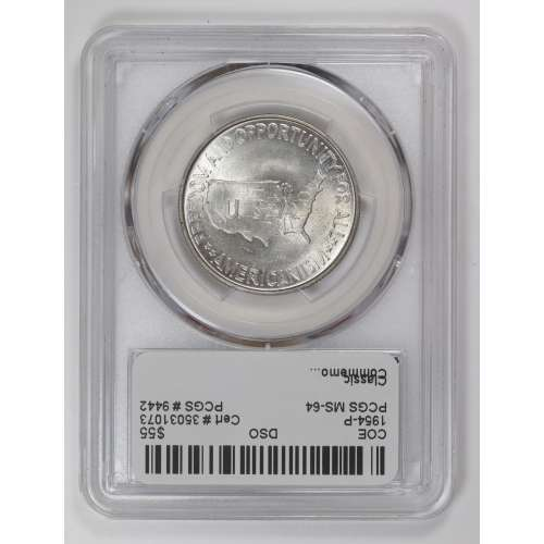1954 Washington-Carver  PCGS MS-64