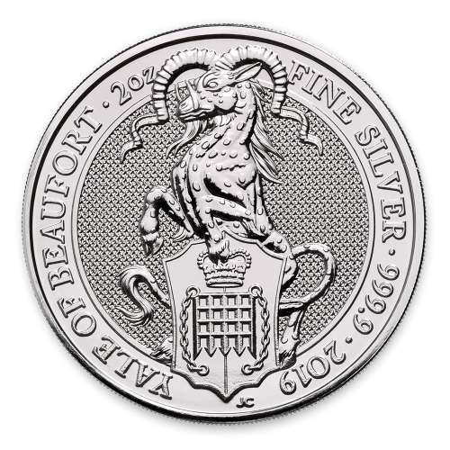 2019 2oz Britain Queen's Beast: The Yale of Beaufort