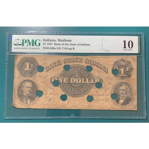 1857-Madison, Indiana IN2g160a   Other VG-10