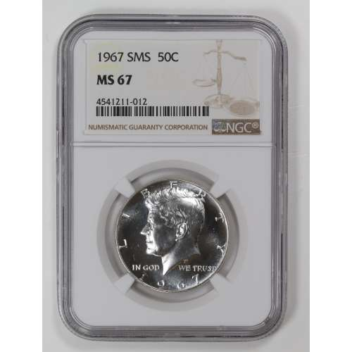 1967-S  SMS NGC MS-67