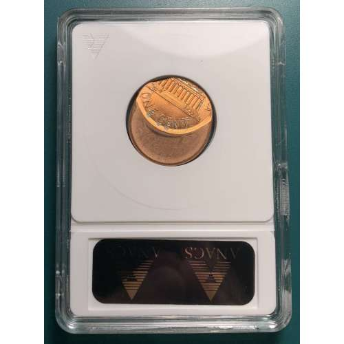 1997 Off Center & Clipped  ANACS MS-64