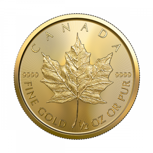 2021 1/2 oz Canadian Gold Maple Leaf
