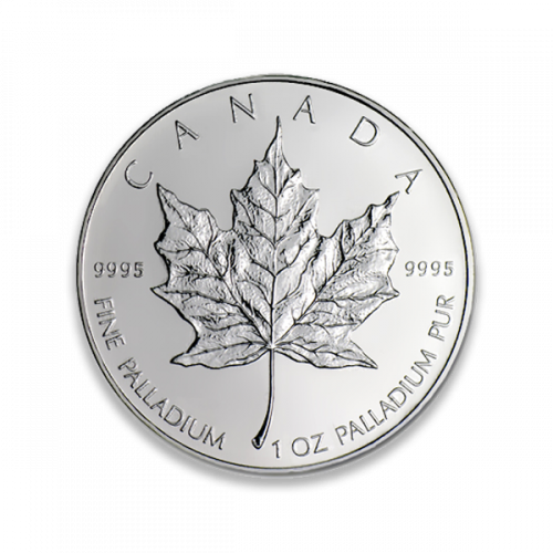 Any Year - 1oz Canadian Palladium Maple Leaf
