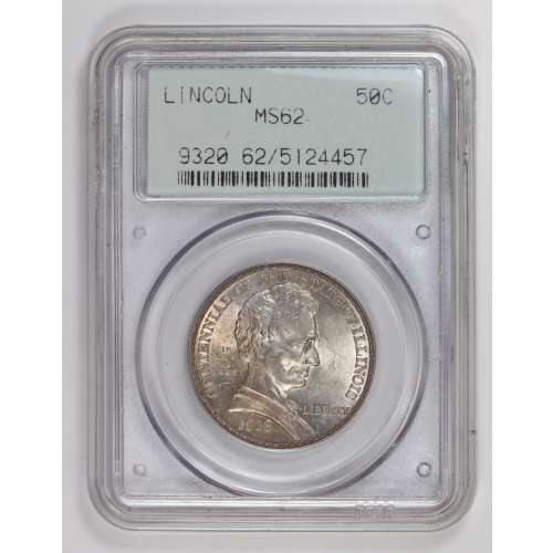 1918 Lincoln OGH PCGS MS-62