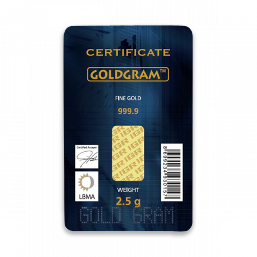 Generic 2.5g Gold Bar