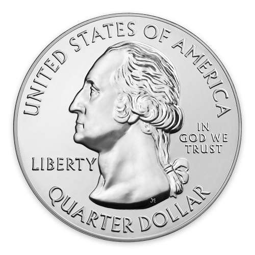 2016 5 oz Silver America the Beautiful Cumberland Gap National Historical Park