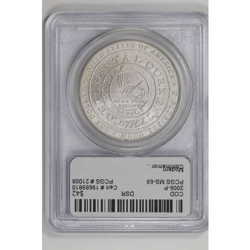 2006 Benjamin Franklin-Founding Father  PCGS MS-69