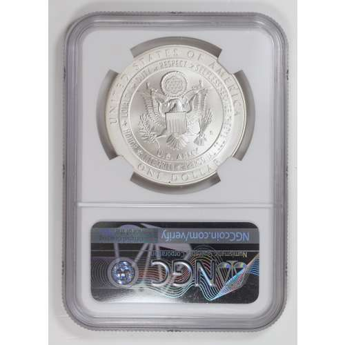 2011-S UNITED STATES ARMY  NGC MS-69