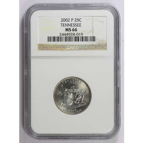 2002 TENNESSEE  NGC MS-66