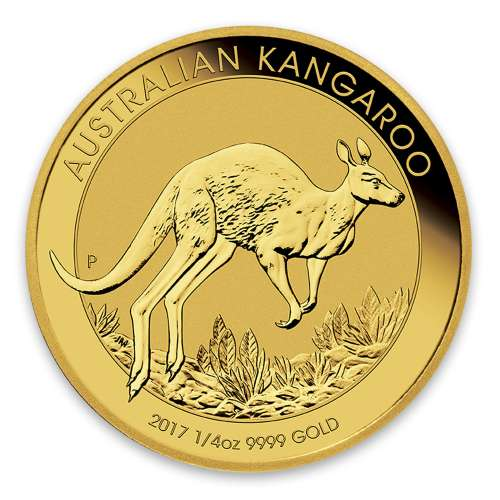 Any Year 1/4oz Bullion Nugget / Kangaroo Coin
