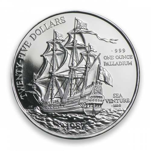 Bermuda 1oz Palladium Sea Venture
