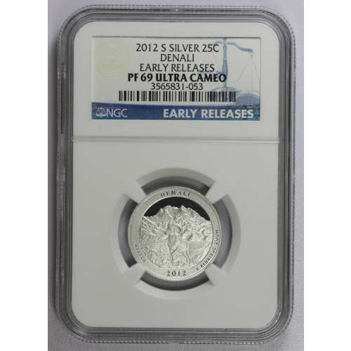 2012-S DENALI EARLY RELEASES ULTRA CAMEO NGC PF-69