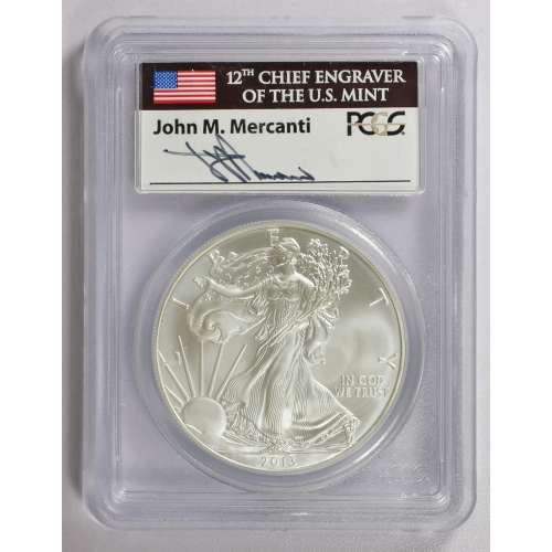2013 Silver Eagle  First Strike  PCGS MS-69