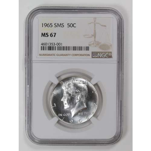 1965-S  SMS NGC MS-67