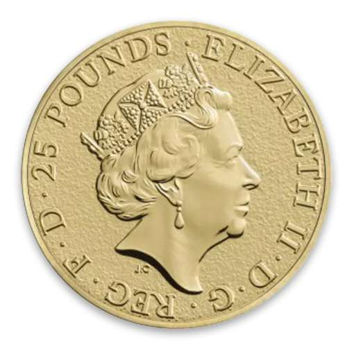 2016 1/4oz Gold Britain Queen's Beasts: The Lion