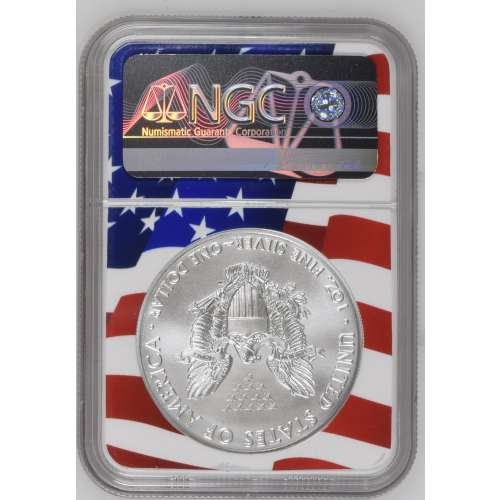 2019 Early Releases Flag Holder NGC MS-70