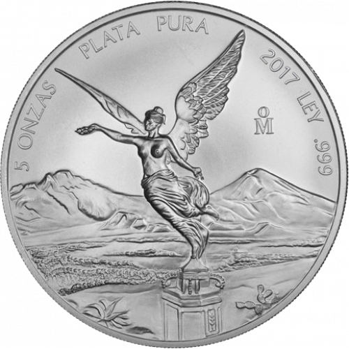 Any Year - 5 oz Mexican Silver Libertad