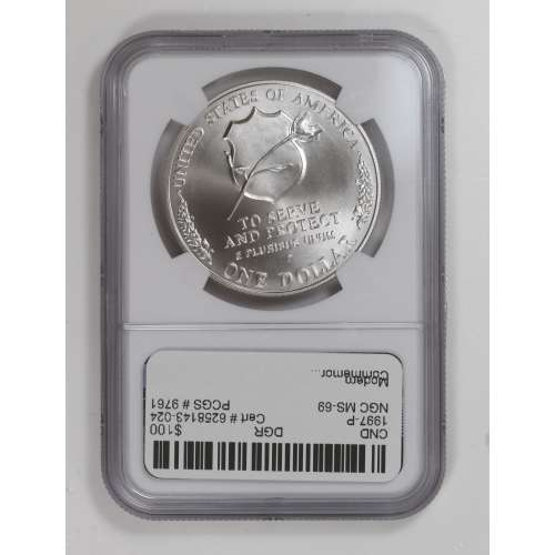 1997 LAW OFFICERS MEMORIAL  NGC MS-69