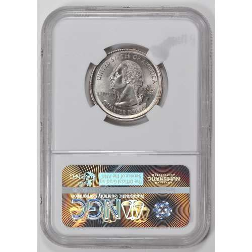 1999 NEW JERSEY MULTI STRUCK IN COLLAR 1999 NGC MS-66