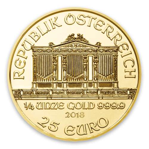 Any Year - 1/4oz Austrian Gold Philharmonic