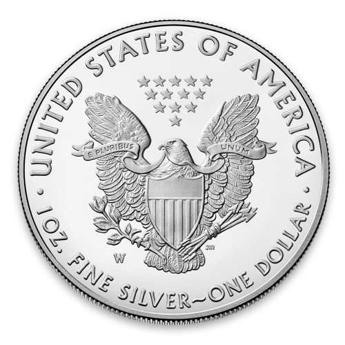 2020 1ozAmerican Silver Eagle End of WWII 75th Anniversary Proof Coin